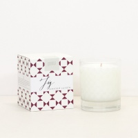 Fig Scented Boxed Candle By Caroline Gardner